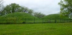 Native American burial mounds - Indian Mound Park...St. Paul minnesota
