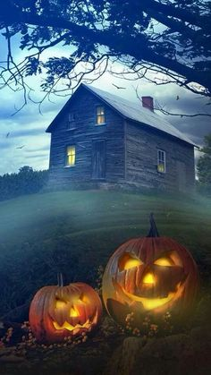 Love this picture...captures the essence of Halloween!! !