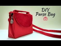 DIY Woman Wallet Tutorial with Zipper Pocket Inside from Old Bag Diy Fabric Purses, Diy Bags Purses, Diy Purse Organizer, Purse Organization, Diy Pouch Tutorial, Handbag Tutorial, Diy Purse Making, Diy Clothes Bag, Makeup Bag Tutorials