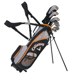 Do your kids golf? These junior clubs are $299.99 at Callaway.com. Earn $60 back in rebates when you pay with Benefit!  XJ Hot (Boys 9-12) Junior Golf Clubs