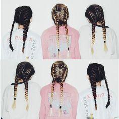 Braids on braids. @thecoveteur