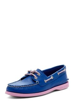 Sperry Top-Sider A/O Blue/Lavender/Fuchsia Shoe by Sperry Top-Sider on @HauteLook