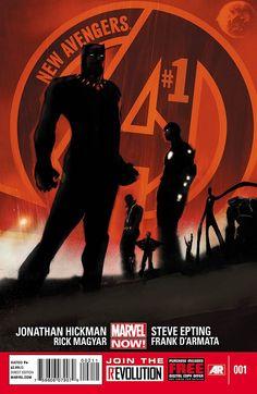 New Avengers #1 (Marvel NOW!). Cover by JOCK.