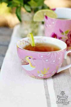 Perfect tea time..