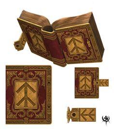 Dwarven book. Beautiful!
