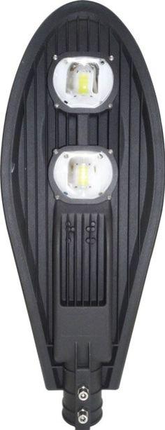 LAMPA STRADALA LED 100W ECO ALB RECE este una dintre cele mai puternice modele de lampi stradale. Datorita fluxului luminos puternic este ideala pentru a fi montata la inaltimi mari astfel luminand o arie mai mare. Thing 1, Led, Exterior, Outdoors