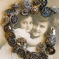 vintage button jewellery - Google Search