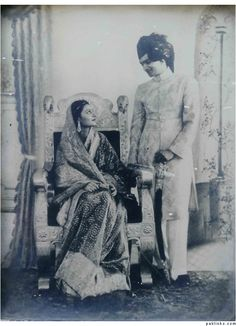 Indian Princess - Maharani Gayatri Devi Princess of Jaipur on her Wedding Day to…
