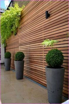 Image result for horizontal slats fence