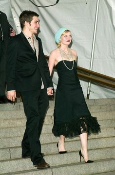 Pin for Later: 33 Memorable PDA Moments From Met Galas Past Jake Gyllenhaal and Kirsten Dunst, 2003