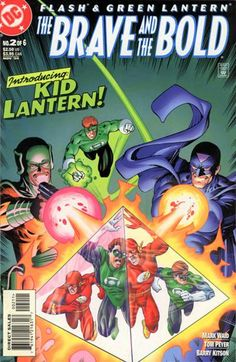 Flash and Green Lantern The Brave and the Bold 2 Kids Lantern, Green Lantern Corps, Brave And The Bold, Be Bold, Comic Book Covers, Comic Books, Mark Waid, Fastest Man, Man Alive