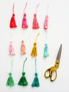 Tiny Tassel Tutorial
