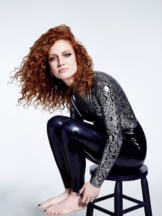 """selfie-village: """"shiningghost: Jess Glynne in awesome latex catsuit celebrity monkey Get Rich then buy a Pet Monkey. Sexy Latex, Jess Glynne, Latex Dress, Latex Outfit, Latex Girls, Beautiful Redhead, Beautiful Women, Latex Fashion, Fetish Fashion"""