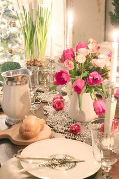FRENCH COUNTRY COTTAGE: Simple Holiday Brunch