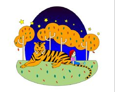 Tiger And Girl 老虎与少女