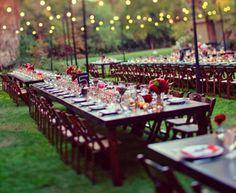 longer table arrangement   DIY Table Scapes | DIY Table Scape Ideas & Trends | Do It Yourself Wedding Table Scapes | Para ti Novia