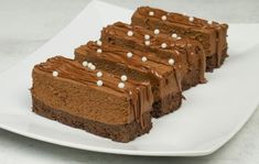 Healthy Sweets, Healthy Recipes, Chocolate Sweets, Light Desserts, Nutella, Tiramisu, Food And Drink, Vegetables, Cooking