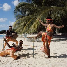 Hawaiian or African themed music playing in the background. One at a time, guests take their turn at shimming under the Limbo stick. The winner is the person who succeeds in limbo without falling on their backside. Give a prize for the funniest limbo dance...I better have MANY prizes!