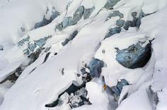 Chamonix Free Ride Skiing © Jonas Bendiksen