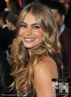 The style evolution of Sofía Vergara - Bombshell Looks! http://focusonhair.com/content/sof%C3%ADa-vergara-hairstyles