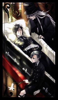 Sebastian Michaelis and Ciel Phantomhive