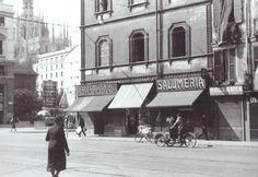 Verziere e Piazza Fontana nel 1935   da Milan l'era inscì