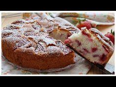 Torta soffice alle fragole e limone senza glutine e lattosio - YouTube