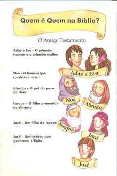 Blog da Catequista Lucimar: Quem é Quem na Bíblia: