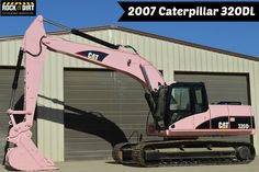 With October being Breast Cancer Awareness Month! We thought this Pink Excavator available from Milam Equipment Sales would be the perfect featured item for today! You can view all the #Excavators available on our site at http://www.rockanddirt.com/equipment-for-sale/excavators #RockandDirt #HeavyEquipment