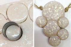 Premo! Polymer clay OPAL 2015 new color necklace project