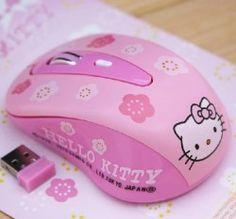 Hello Kitty Wireless Mouse(KT) ::INFPASS