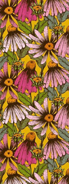 retro daisies: