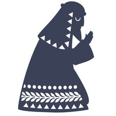 Silhouette Design Store: nativity joseph