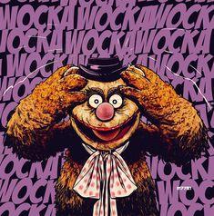 DC meets Muppets - Wocka Wocka Joker