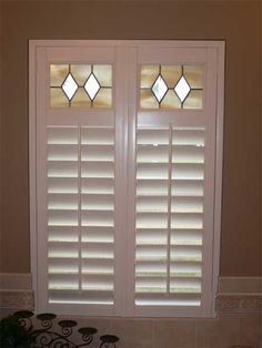 Stained Gl Shutters