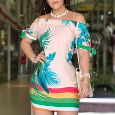 Cute Dresses, Beautiful Dresses, Casual Dresses, Short Dresses, Casual Outfits, Fashion Dresses, Love Clothing, Blouse Styles, African Dress