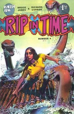 Rip in Time Issue #4 by Richard Corben (1987)