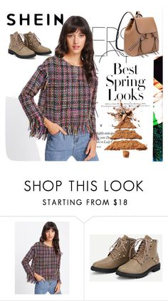 """SHEIN"" by linalove-1 ❤ liked on Polyvore featuring H&M"