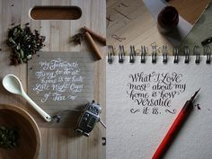 The art of hand lettering - http://theartofhandlettering.tumblr.com/post/48927889885/dribbblepopular-hand-lettering-original
