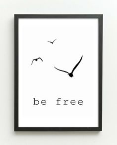 BE FREE  (nr 22) von Simple-Design auf DaWanda.com