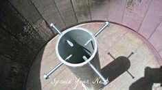 Image result for diy patio umbrella stands