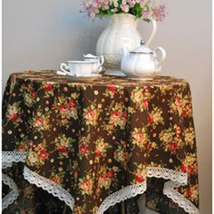 Linen tablecloth from moslembazaar.com