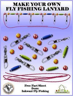 1000 images about fly fishing lanyard on pinterest fly for Diy fly fishing