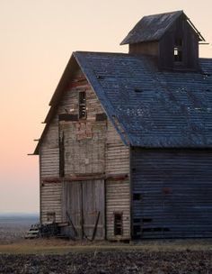 The old weathered barn..what a life it must have led.