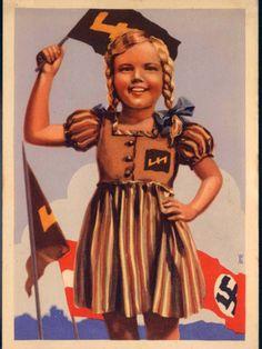 Third Reich propaganda postcard.