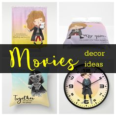 Home Holidays Gift Guide Holiday Gift Guide, Holiday Gifts, Clock, Room Decor, Birthday, Movies, Christmas Presents, Films, Watch