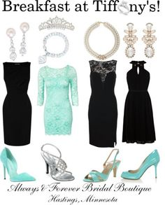 breakfast at tiffany's bachelorette party | Breakfast at Tiffanys Outfits@kea9t9