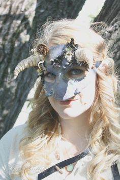 One-of-a-kind mask, inspired by Labyrinth's fabulous Goblin Masquerade ~ ArtisanMaskers