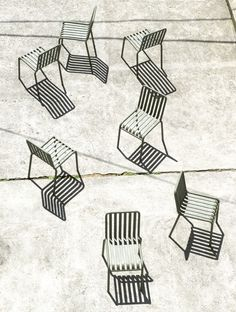 Hay - Palissade - chair - outdoor - furniture