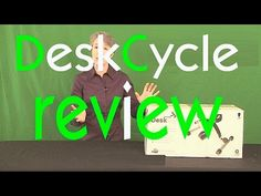 Complete out of the box review of the DeskCycle.